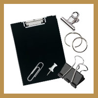 Card Rings, Clips & Clipboards