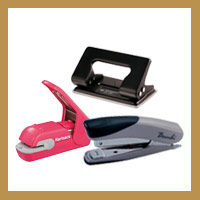 Staplers, Pins & Hole Punches