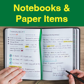 Notebooks & Paper Items
