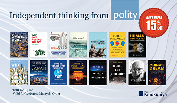 Independent thinking from polity - Books Kinokuniya Webstore